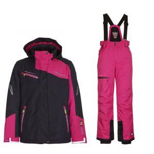 Skianzug Kinder Schneeanzug Wasserdicht schwarz pink Killtec , Kinder Größen:152
