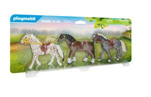 PLAYMOBIL Country 70683 3 Pferde