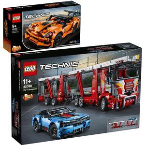 Lego 42093 42098 Technic? 2er Set Chevrolet Corvet