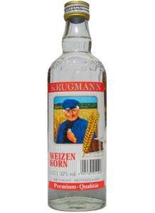 Krugmann Weizenkorn Taschenflasche groß 0,35 L