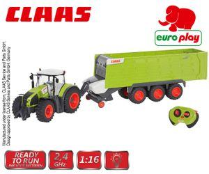EUROPLAY Claas Axion 870 & Claas Cargos 9600