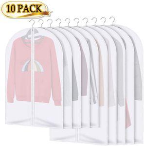 Kleidersäcke 10 Stücke Kleiderhülle Anzughülle - Langzeitaufbewahrung