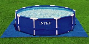 Intex Bodenplane für max. 457 cm Pools