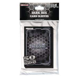YU-GI-OH! 74148 YU-GI-OH! YGO Kartenhüllen Card Sleeves Dark Hex