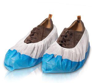 Schuhüberzieher | 100 Stück Überschuhe extrem reißfest wasserfest und rutschfest | Überzieher für Schuhe zur Erhaltung & Sauberkeit der Schuhe