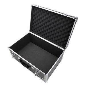 HMF 18441-02 Aufbewahrungskoffer, Transportkoffer Aluminiumrahmen, 48 x 32 x 22,5 cm