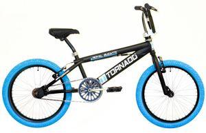Bike Fun Freestyle Tornado 20 Zoll 31 cm Unisex Felgenbremse Mattschwarz/Blau