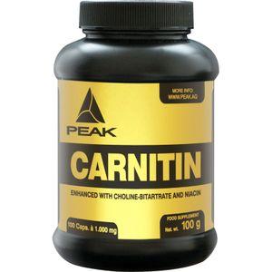 Peak Performance Carnitin, 100 Kapseln Dose