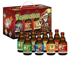 Weihnachts-Pils Festretter Weihnachtsbier im 8er Geschenkekarton (8 x 0.33 l) (7,19 EUR / l)