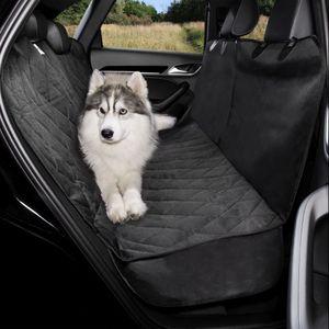 dibea Autodecke für Hunde im Steppdesign, Schutzdecke wasserabweisend, Größe 153x138 cm