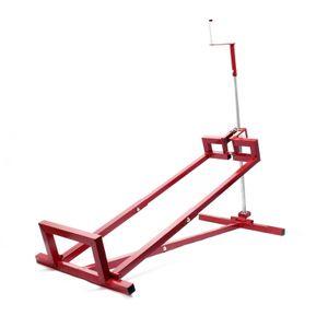 Reinigungshilfe Hebevorrichtung Aufsitzmäher Rasentraktor Lifter 400 kg