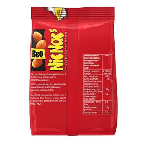 Lorenz NicNacs BBQ Flavour Double Crunch Peanuts Knabbersnack 110g