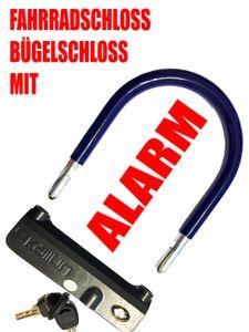 ecolle Alarmschloss Bügelschloss 205 mm x 170 mm - Alarmstärke : 100 dB