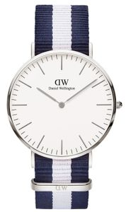 Daniel Wellington 0204DW/DW00100018 Herren-Armbanduhr, Edelstahl-Gehäuse
