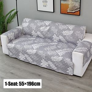 Grau 1Sitzer Sofaschoner Haustier Sofaüberwurf Sesselschoner Sofabezug
