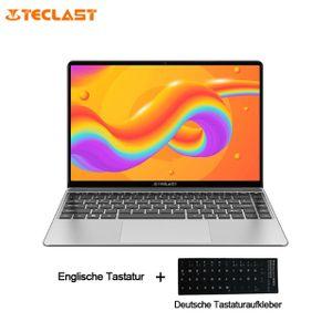 Teclast F7S Laptop 8 GB RAM, 128 GB SSD 14,1-Zoll-Bildschirm ultradünn Intel Apollo Lake-Prozessor Dualband-WLAN