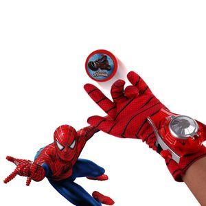 Marvel Iron Man Captain America Spider-Man-Handschuhe für Kinder Wrist Launcher//Spiderman-Handschuhe
