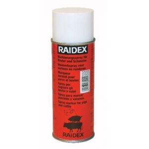 Schafzeichenspray Raidl Markierungsspray Schafe RAIDEX 400ml rot