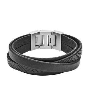 Fossil JF02998040 Armband Herren Textured B Wrist Edelstahl