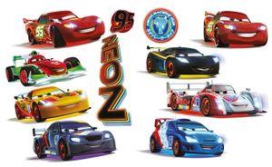 Disney wandaufkleber Cars 11 Stück
