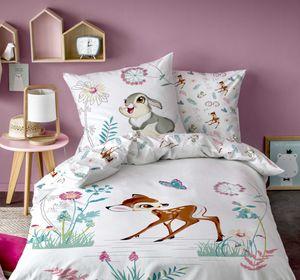 Disney Bambi Bettwäsche 80x80 + 135x200 cm