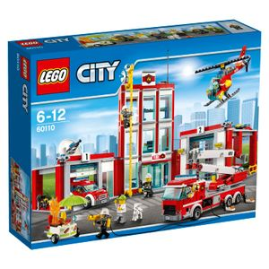 LEGO® City Große Feuerwehrstation 60110