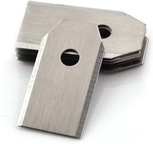 45x Titan Messer Klingen, Rasenroboter Messer für alle Husqvarna Automower, Gardena, Yardforce Mähroboter - (3g - 0,75mm) + 45 Schrauben