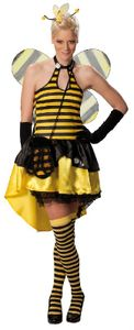 Sexy Biene Karneval Fasching Kostüm 42