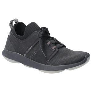 Hush Puppies Damen World BounceMax Sneaker zum Schnüren FS6569 (40 EU) (Schwarz)