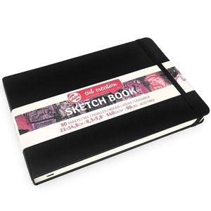 ROYAL TALENS Art Creation Skizzenbuch 210 x 148 mm schwarz 80 Blatt