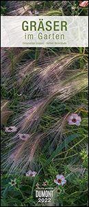 Gräser im Garten 2022 - DUMONT Wandkalender - Garten-Kalender - Hochformat 30,0 x 68,5 cm