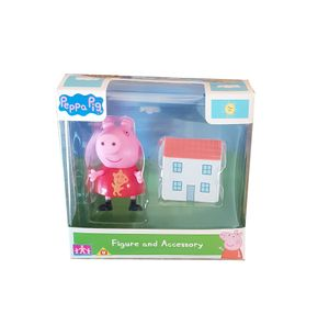 Peppa Wutz Spiel-Figur Peppa Wutz mit Puppenhaus