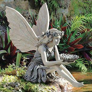 Gartendekoration Vogel-Feeder Vogelhäuschen Außendekoration Gartenskulpturen & Statuen, Feengarten