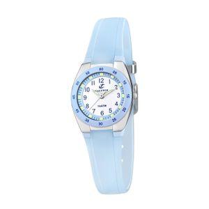 Calypso Kunststoff Jugend Uhr K6043/D Armbanduhr türkisblau Analogico D2UK6043/D