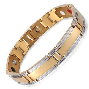 Edelstahl Magnet Männer Armband Germanium