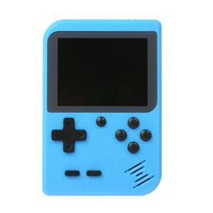 spielkonsolen retro Retro Handspielkonsole Tragbare Mini-Spülmaschine 400 Built-In-Spiele (blau)