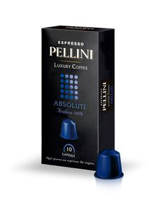 Pellini Luxury Coffee Absolute Espresso | 10 Nespresso® komp. Kapseln