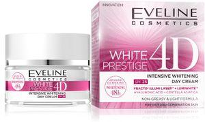Eveline Cosmetics - Gesichtscreme - White Prestige 4D Intensive Whitening Day Cream