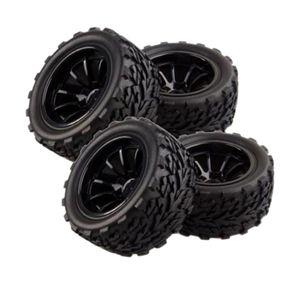 4 Stk. Reifen-Set, Gummireifen für 1/10 HSP HPI REDCAT TRAXXAS