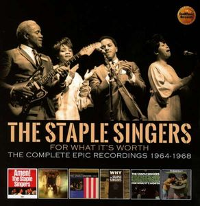 The Staple Singers - For What It's Worth: The Complete Epic Recordings 1964 - 1968 -   - (CD / Titel: A-G)