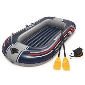 Bestway Hydro-Force Schlauchboot mit Pumpe und Rudern Blau 61083