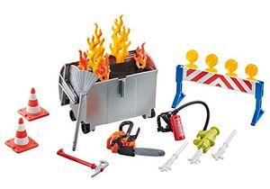 PLAYMOBIL 9804 Feuerwehr-Zubehörset (Folienverpackung)