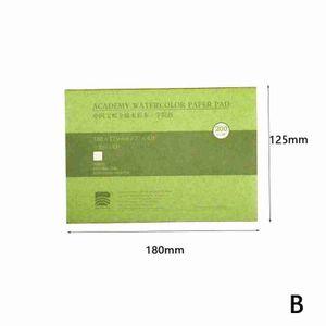 Professionelle Aquarell Papier 20 Bl?tter Student Skizze Aquarell Buch Fš¹r Kš¹nstler Hand Gemalt