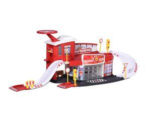 Majorette Creatix Feuerwehr Station + 1 Auto