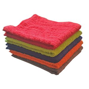 5er Set Seiftücher Seiflappen Frottier Baumwolle