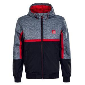 Iriedaily Rastron Jacket Winterjacke Herren  grau rot schwarz S