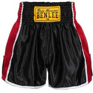 BENLEE Rocky Marciano Thai Shorts Herren Schwarz, Größe:S