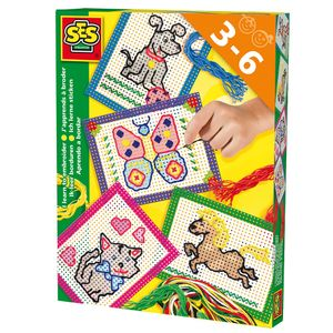 SES Ich lerne sticken inkl. 4 Stickkarten