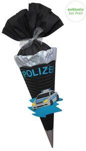 Schultüte Bastelset Polizeiauto vorgestanzt,