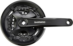 Shimano FC-MT101 Kurbelsatz 9-fach black Kurbelarmlänge 175mm